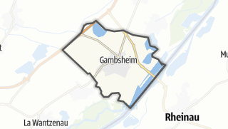 Cartina / Gambsheim