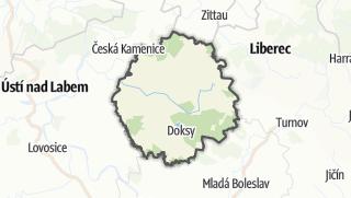 Mapa / Česká Lípa