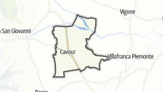 מפה / Cavour