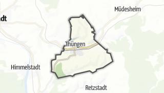 Cartina / Thüngen