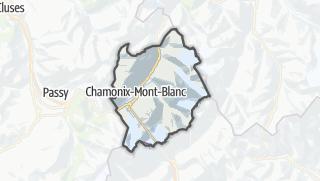 Karte / Chamonix-Mont-Blanc