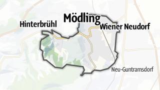 מפה / Mödling
