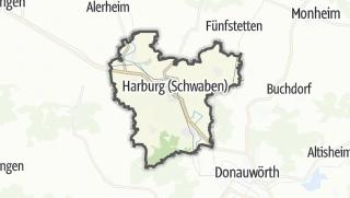 Cartina / Harburg (Schwaben)
