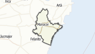 Karte / Manacor