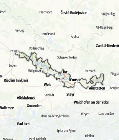 Map / Danube Upper Austria