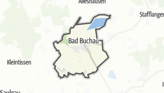 Cartina / Bad Buchau