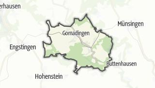 地图 / Gomadingen