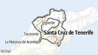 Carte / San Cristóbal de la Laguna
