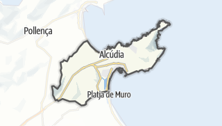 Karte / Alcúdia