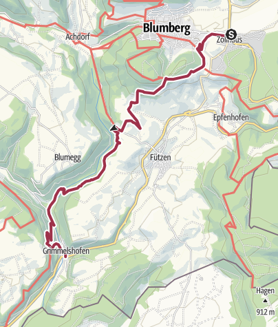 Karte / Genießerpfad Sauschwänzle-Weg