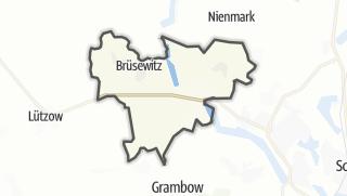 Carte / Brüsewitz