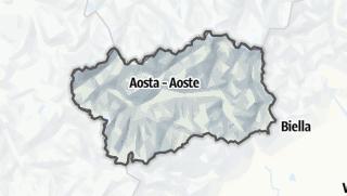 地图 / Aosta