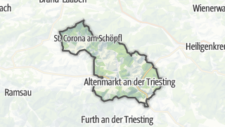 מפה / Altenmarkt an der Triesting