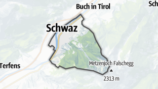 Karte / Schwaz