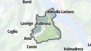 Hartă / Valbrona