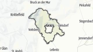 מפה / סביבת גראץ
