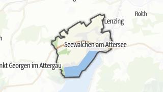 Mapa / Seewalchen am Attersee