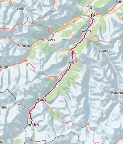 Map / Day 4 Imst to Nauders