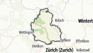 Karte / Dielsdorf
