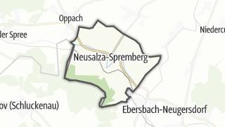 מפה / Neusalza-Spremberg