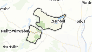 Cartina / Zeschdorf