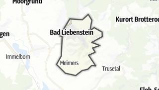 Mapa / Bad Liebenstein