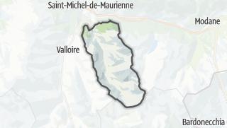 Mapa / Valmeinier