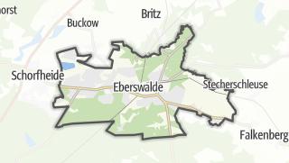 Cartina / Eberswalde