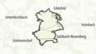 Cartina / Neukirchen bei Sulzbach-Rosenberg