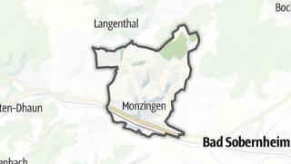 Karte / Monzingen