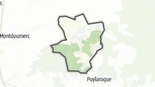 Карта / Labastide-de-Penne