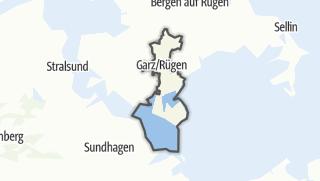 地图 / Garz/Ruegen