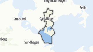 Cartina / Garz/Rügen