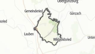 Karte / Haldenwang