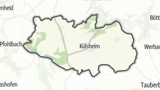 Cartina / Külsheim