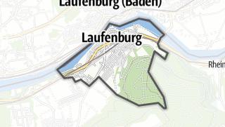 地图 / Laufenburg