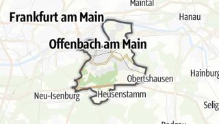 Karte / Offenbach am Main