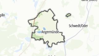 地图 / Angermünde