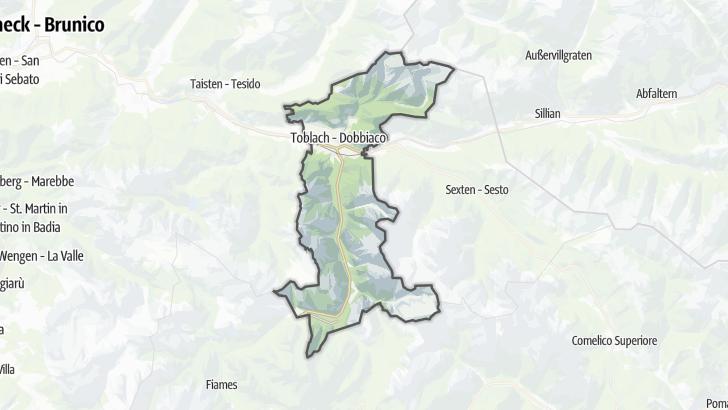 Map / Toblach
