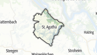 Cartina / Sankt Agatha