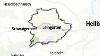 地图 / Leingarten