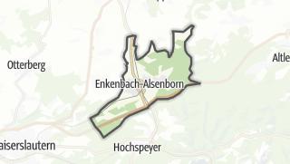 Cartina / Enkenbach-Alsenborn