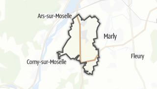 Mapa / Augny