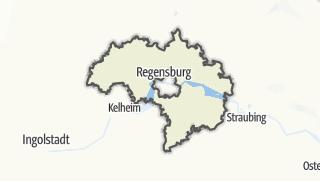 Karte / Regensburg