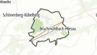 Cartina / Bruchmühlbach-Miesau