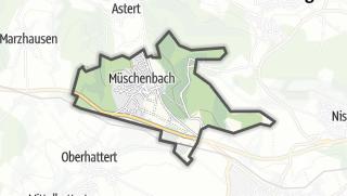 Mapa / Müschenbach