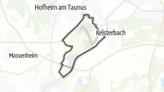 Mapa / Hattersheim am Main
