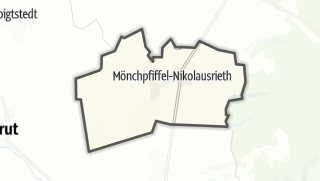 Carte / Mönchpfiffel-Nikolausrieth