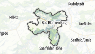Cartina / Bad Blankenburg
