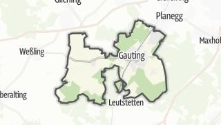 מפה / Gauting
